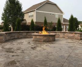 landscape fire feature
