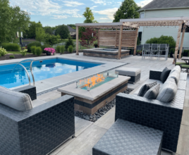 vacation at home - pool