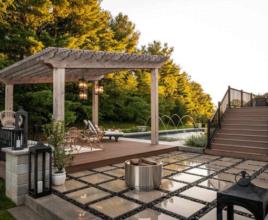 paver patio landscape indianapolis