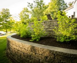 landscape retaining walls